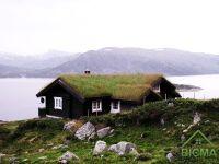 строительство деревянного дома, Норвегия